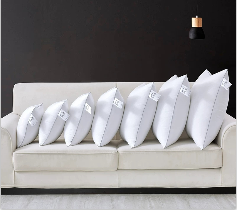 ORT1LK20: cotton duck feather cushion(BSCI OKO DOWNPASS RDS)